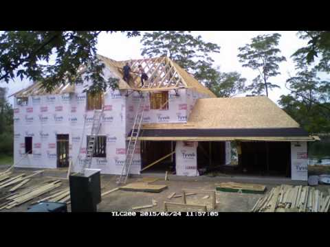 Time Lapse Home Construction (156 days of construction in 12.5 minutes)