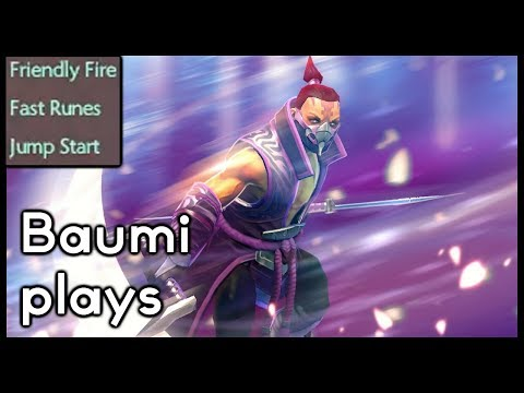 Dota 2 | STORM 0 MANA + FRIENDLY FIRE + MANA VOID!! | Baumi plays Anti-Mage