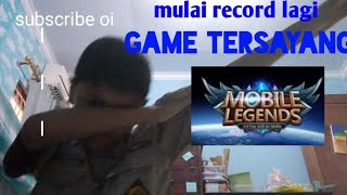 Rank ML ku turun karena om ku push LG (mobile legends)