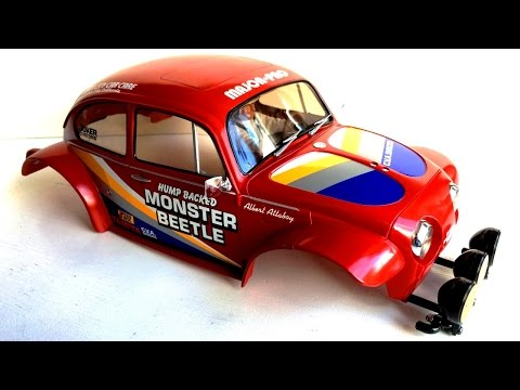 BUiLDiNG the Tamiya Monster Beetle 2015 Assembly Kit #58618 (Part 1): Making the Body