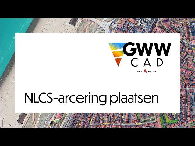 GWW-CAD: Arcering plaatsen