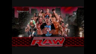 WWE Raw New Theme Song 11 16 2009
