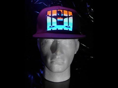 Lighting LED cap - DJ equalizer (www.cool-mania.com) Mp3