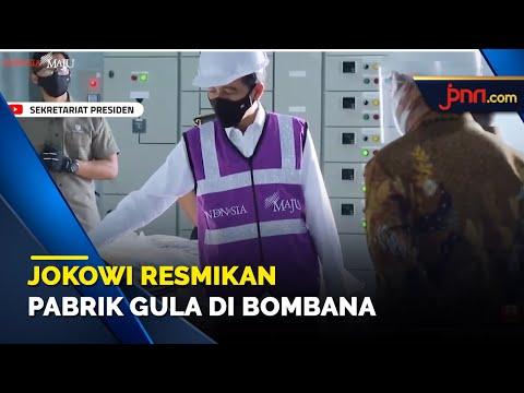 Jokowi Apresiasi Pembangunan Pabrik Gula di Bombana