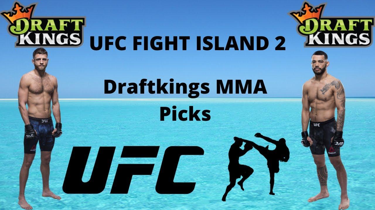 UFC Fight Island 1 Draftings Picks