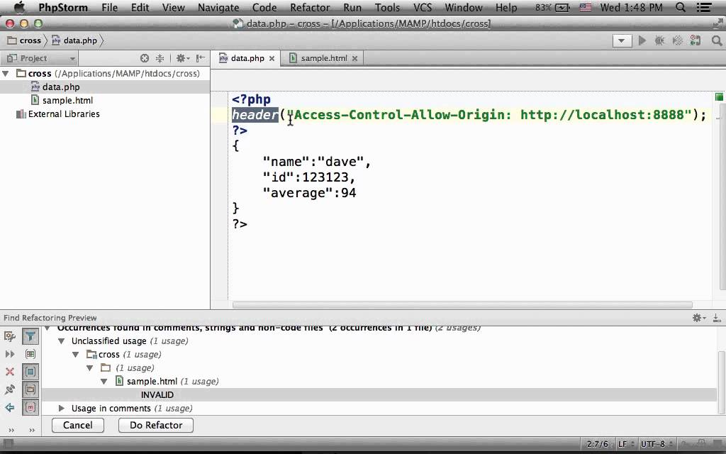 Cross Site HTTP Requests - YouTube f3d32b6cf39