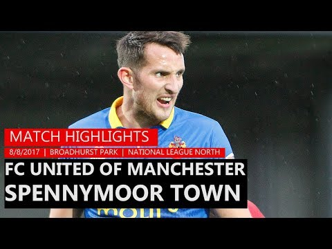 HIGHLIGHTS | FC United of Manchester 2-3 Moors | 2017/18