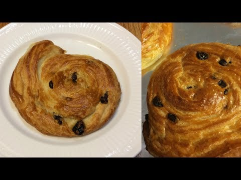 Flaky, Buttery, Raisin Pastries!