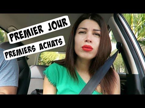 Premier Jour, Premiers Achats!!!