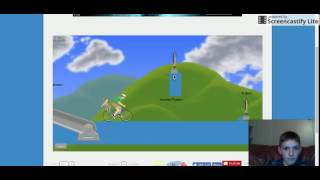 happy wheels part 9 playing clash of clans/clash royale levels