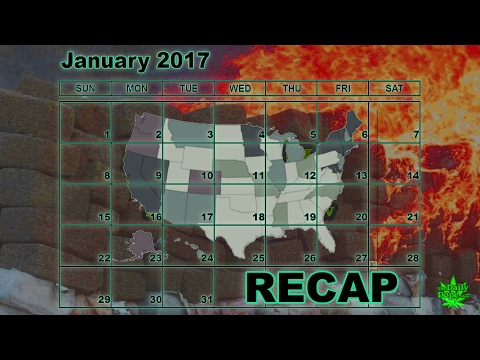 January 2017: Marijuana News Recap