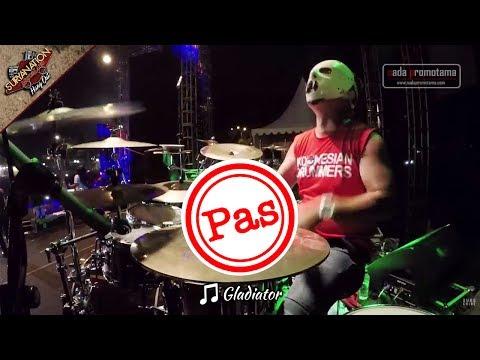 GLADIATOR | PAS BAND [MEI 2017 Live Konser di Alun-alun Barat - SERANG]