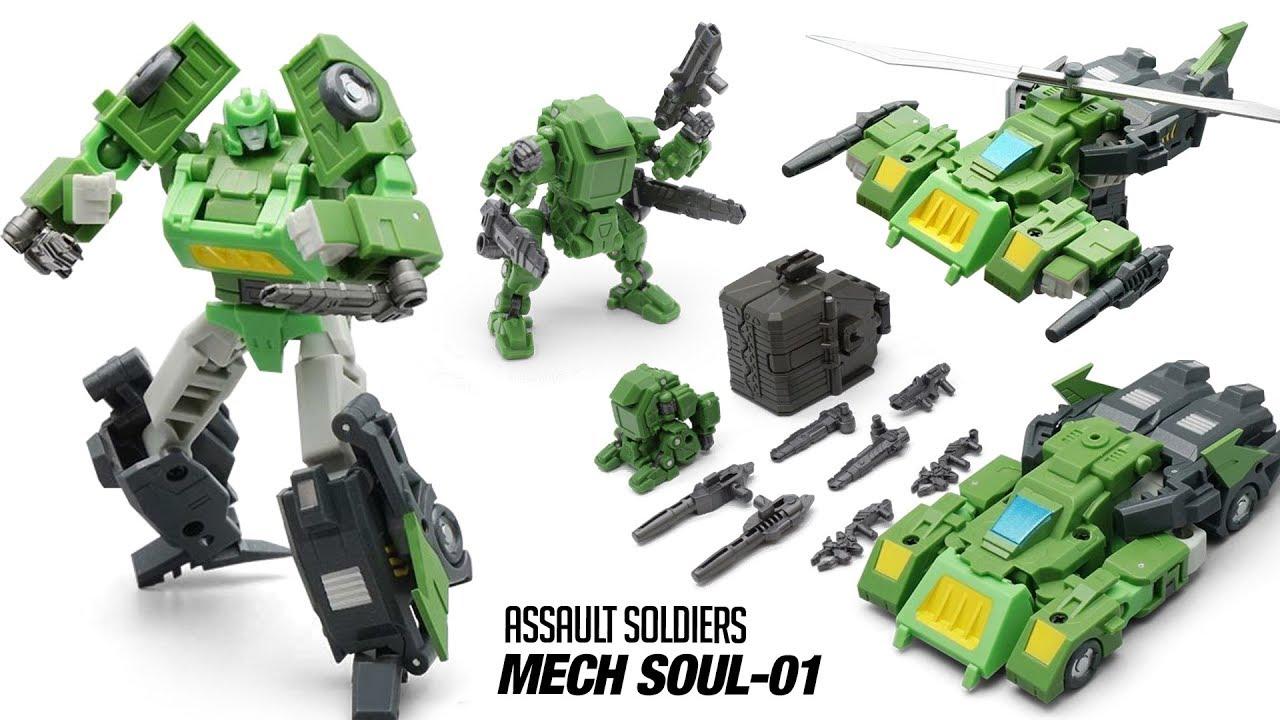 InHand MFT Mech Soul MS-10 ES-REV Reconnaissance Exploration Vehicle Toys Hero