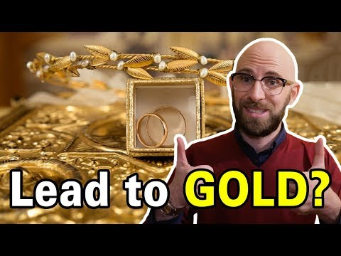 That Time Someone Actually Achieved the Alchemists' Dream of Turning a Different Material Into Gold