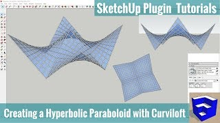 Video Creating a Hyperbolic Paraboloid in SketchUp with Curviloft - SketchUp Extension Tutorials download MP3, 3GP, MP4, WEBM, AVI, FLV Desember 2017
