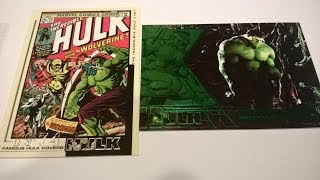 The Incredible Hulk Movie - Film and Comic card review 2003 Upper Deck