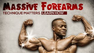 4 Great Exercises for Massive Forearms