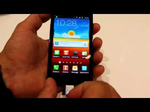 Samsung Galaxy R Tegra 2 video anteprima by HDblog