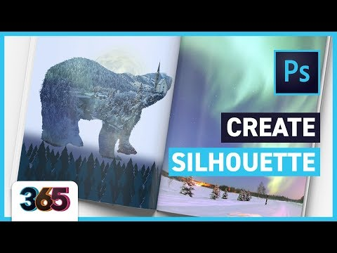 Composition with Silhouette | Photoshop CC Tutorial #58/365 Days of Creativity