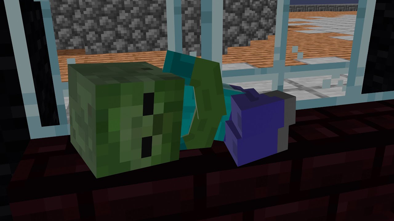 Monster School : Baby Zombie is lost - Minecraft Animation