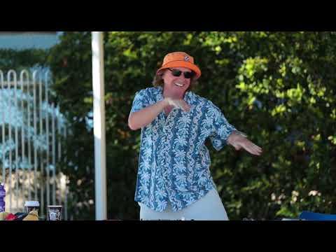 Krazy Kevin DJ'ing and Dancing