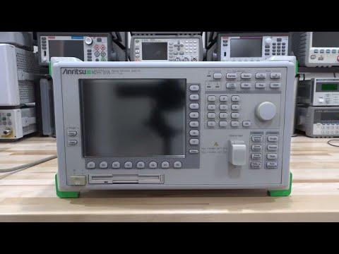 TSP #111 - Teardown & Experiments with an Anritsu MS9710B 0.6-1.75um Optical Spectrum Analyzer