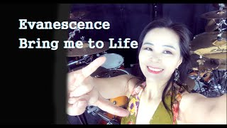 Download Mp3 Evanescence - Bring Me To Life Drum Cover By Ami Kim #97