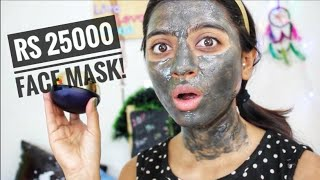 Rs 25,000 Face Mask?! _ First Impressions & Does it really work? | SuperWowStyle Prachi