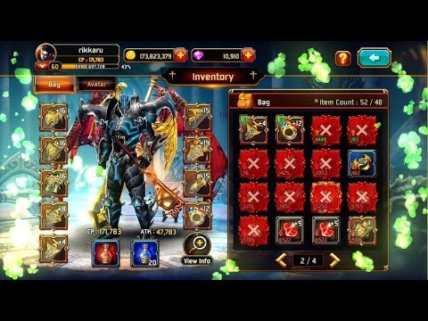 HAHA!! SUPPPER RICH!! Kritika The White Knights Android / IOS RPG Gameplay Boss Trick