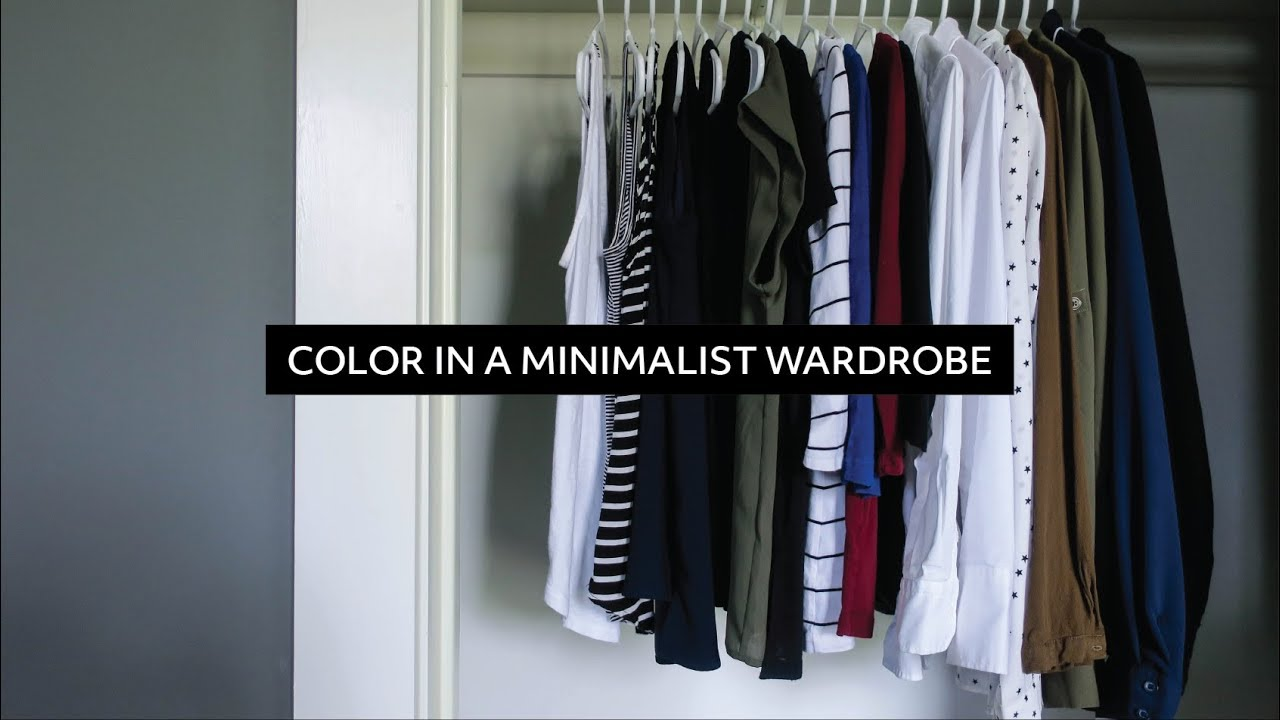 Superbe Color In A Minimalist Wardrobe U0026 How To Create Your Own Color Palette