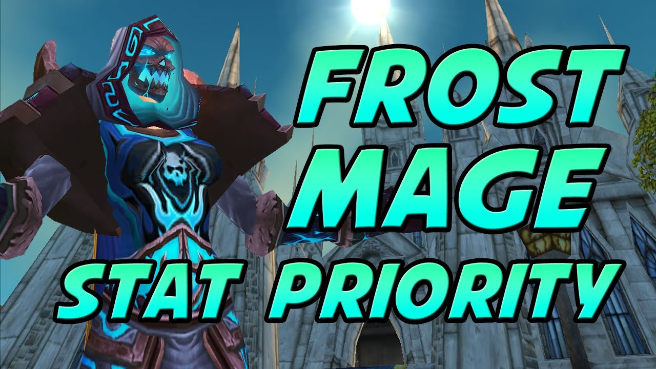 5 0 Level 90 Frost Mage Tutorial Gems Enchants Reforging Stat Priority Youtube
