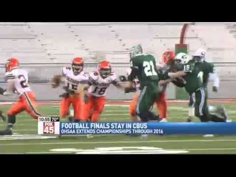 OHSAA Extends Football Finals