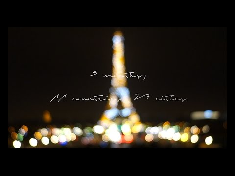 5 months, 11 countries, 27 cities   Snippets of Europe Travelogue