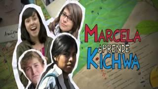 Marcela aprende de Kichwa - Un plan en la cascada