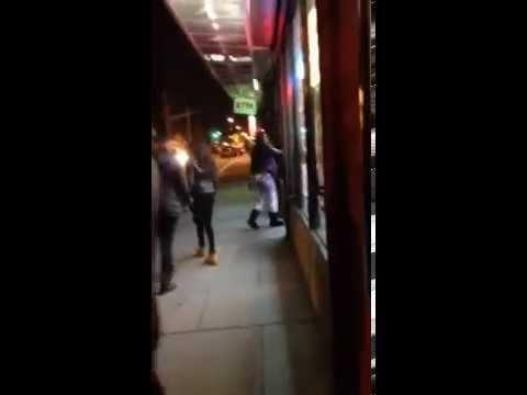 Fight Over Fried Chicken – Jersey City, NJ