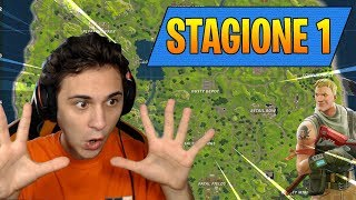 GAME TO FORTNITE SEASON 1 in THIS secret way! 🔴Live Fortnite Royal Battle