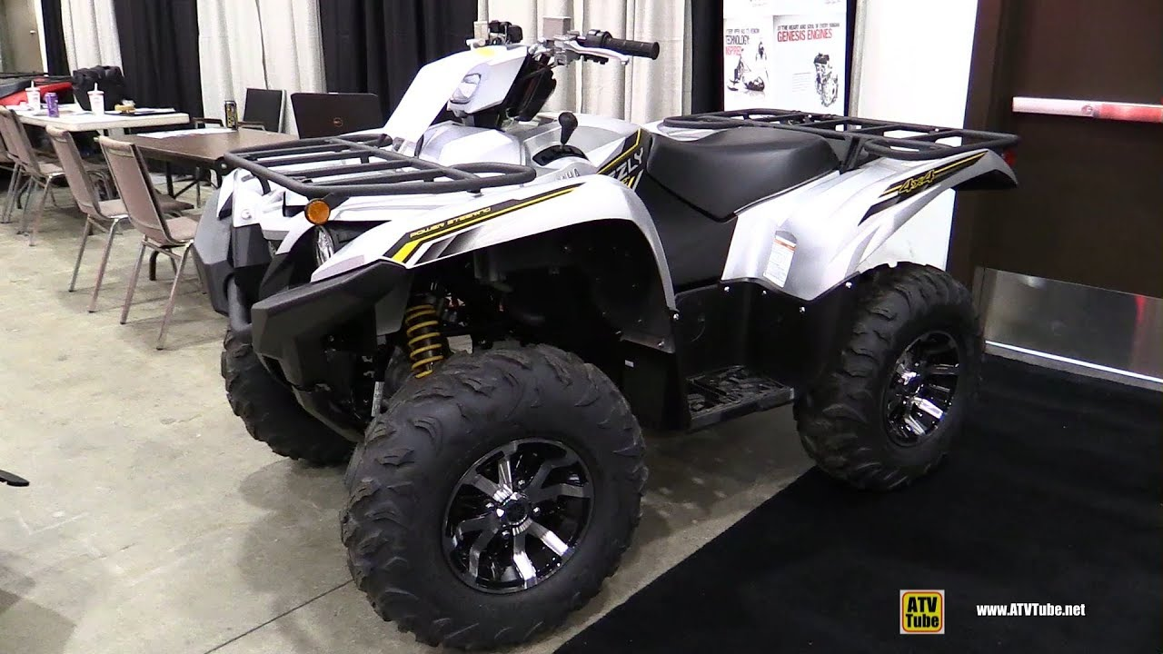 2016 Yamaha Grizzly Preview Atvcom