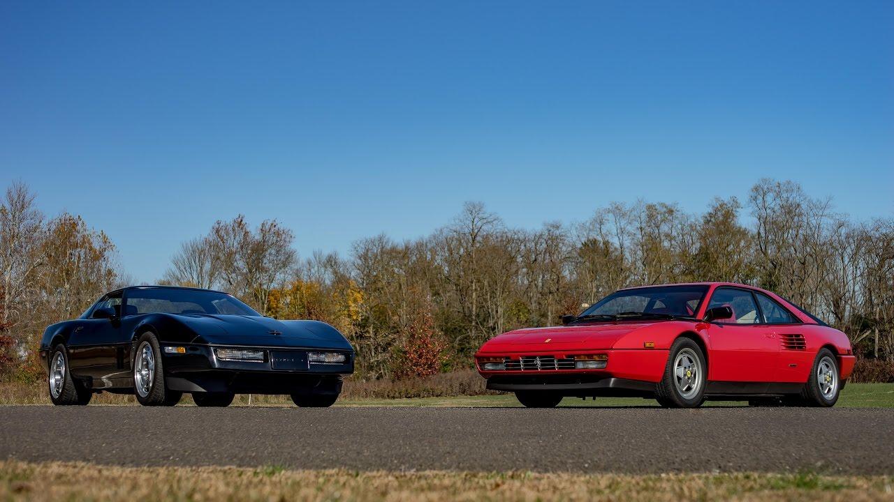 1989 Ferrari Mondial T Vs 1990 Chevrolet Corvette Zr1 Youtube