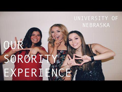 Our Sorority Experience! *University of Nebraska-Lincoln*