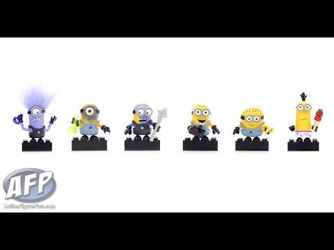 Toy Fair 2015 - Mattel Mega Bloks Minions Minifigures - AFP fly-by ... e6084f6d49eb9