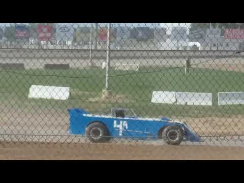 Fremont speedway vintage cars heat race