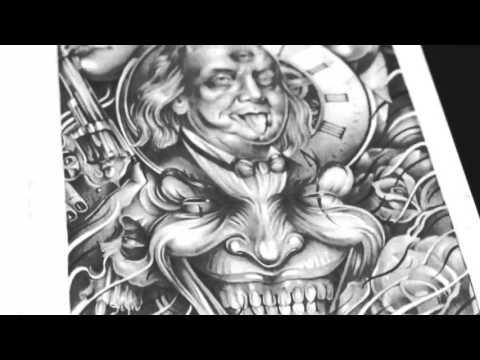 Art Of Tattoos   The Dutch Black & Grey Talent - Didson Tattoos