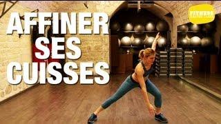 Fitness Master Class - Fitness pour affiner ses cuisses(Si vous trouvez vos cuisses trop fortes, il existe des exercices pour travailler cette zone spécifiquement. Lucile vous propose une séance de sport pendant ..., 2012-11-27T11:13:44.000Z)