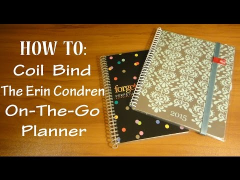 how to use modular series spiral binder