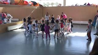 11 03 17 Открытый урок дети 3 4 года в ХШ Русский балет   Тюмень