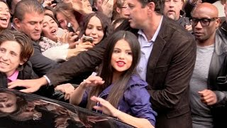 Selena Gomez attends Revival Tour promotion at restaurant Yeeels in Paris