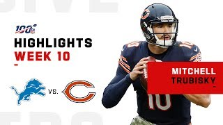 Mitch Trubisky's Triple-TD Day | NFL 2019 Highlights