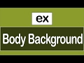 ( JavaScript Examples ) Change Body Background
