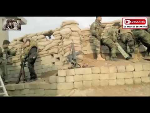 Norwegian Volunteer And His Kurdish Peshmerga Unit Destroy The Enemy Near Mosul Dam