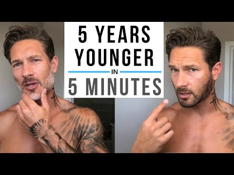 5 Years Younger in 5 Minutes / Fountain Of Youth For Men / Modeling Industry Tip / Gray Beard Tip